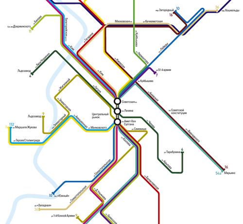 В Лондоне схема метро дала