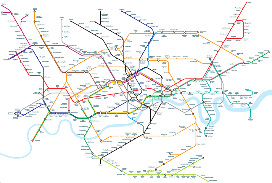 дизайн, схема метро